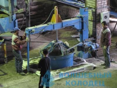 Производство ЖБИ колец с замком
