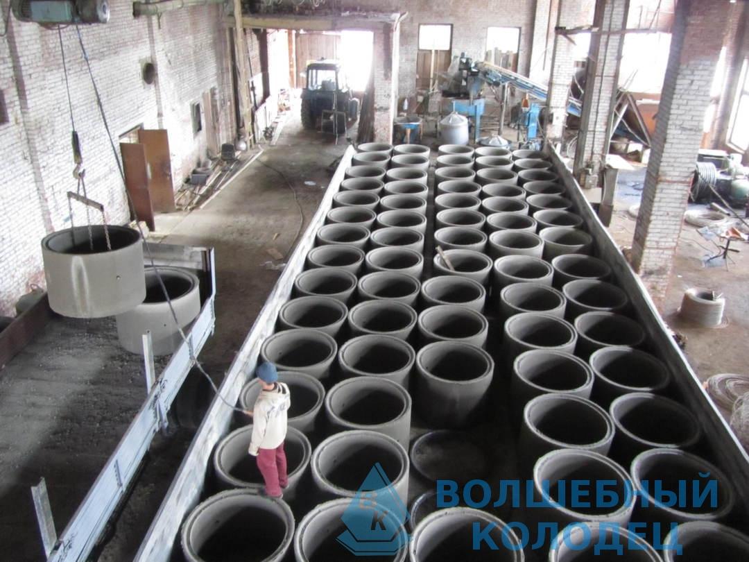 Кольца железобетонные производство сборка лестничных ступеней